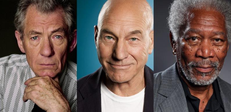 McKellen, Stewart, Freeman