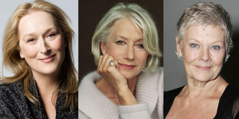 Streep, Mirren, Dench